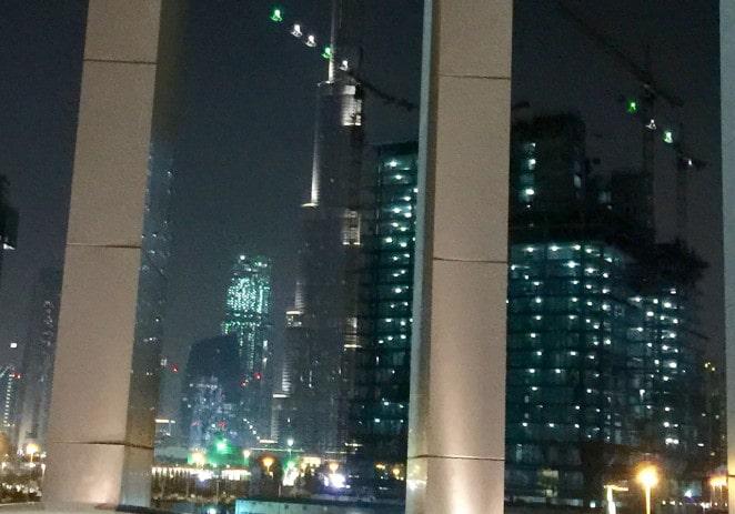 Letter from Dubai: Lights, sand, fog, the work goes on